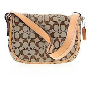 Coach shoulder bag K3K-6842 Tan, beige, brown